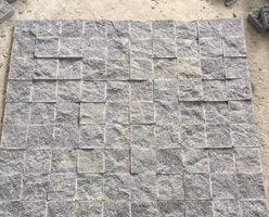 Gray Granite Square Stones