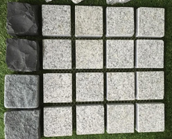 Grey Granite Cobble Stones