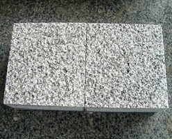 Bushhammered G603 Granite Cobbles