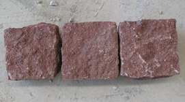 Paving Stone - Dayang Red Cube Stone