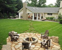 Garden Stone Pavings
