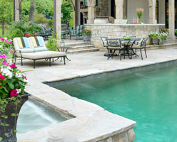 Pool Stone Coping
