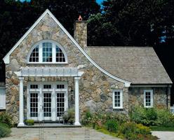 Stone Facade Home