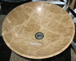 Beige Marble Sink