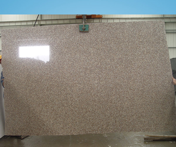 G687 Peach Flower Granite Slab