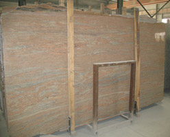 Spun Silk Granite Slab
