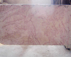 Red Cream Marble Slab