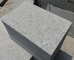 Granite G623 Flamed Tiles