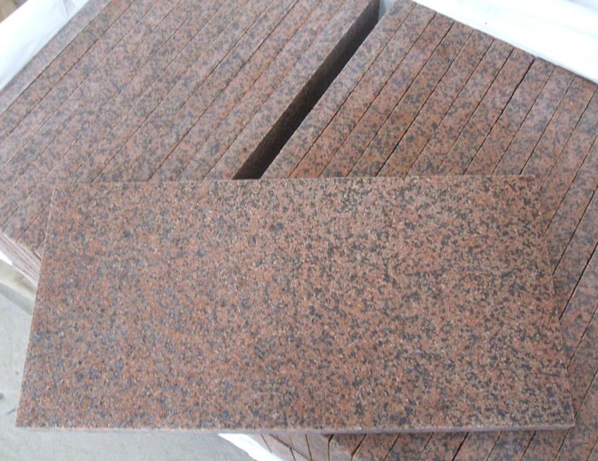 Tianshan Red Granite Tile Granite Tianshan Red Flamed Tiles
