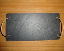 Black Slate Plate