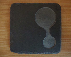 Square Slate Plate