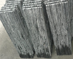 Wall Stone - Black Slate Wall Stone