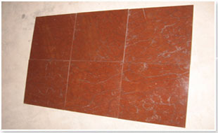 Coral Red Marble Tile