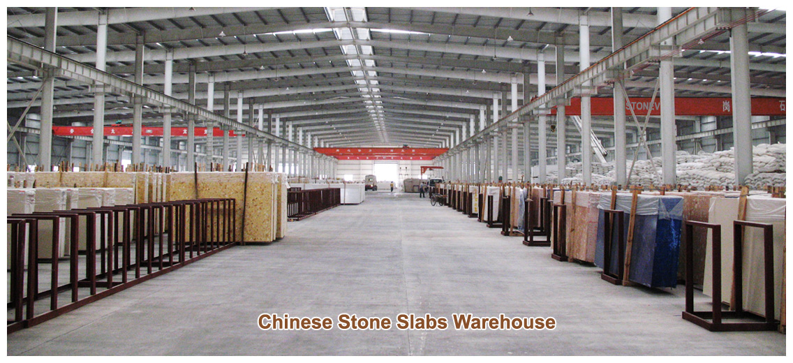 Chinese Stone Slabs Warehouse