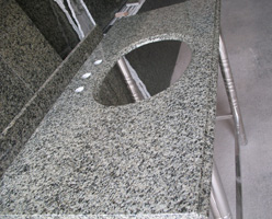 China Green Granite Vanity Tops