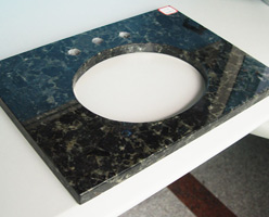 Emerald Pearl Granite Vanity Top