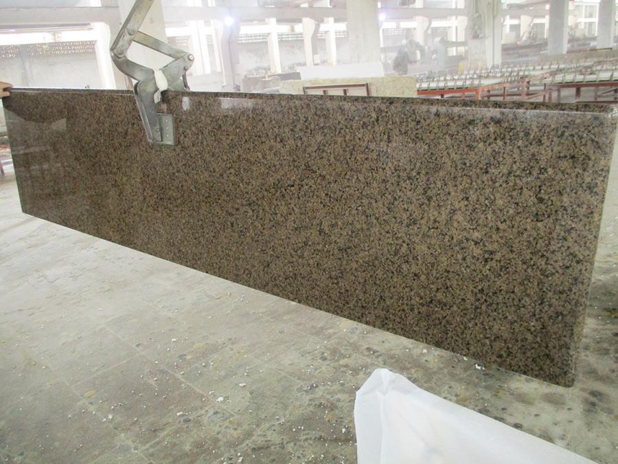 Tropical Brown Granite Countertops