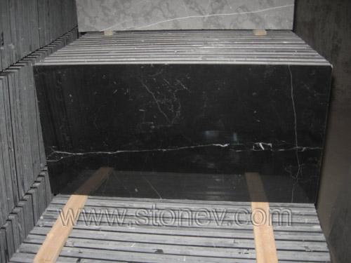 Marble M080 Black & White Tiles