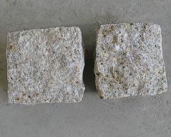 G682 Yellow Granite Cobble Stones