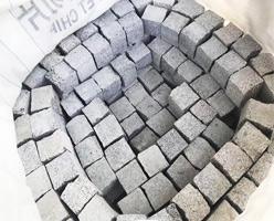 Grey Granite Cube Stones