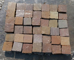 Multicolor Sandstone Cobble Stones