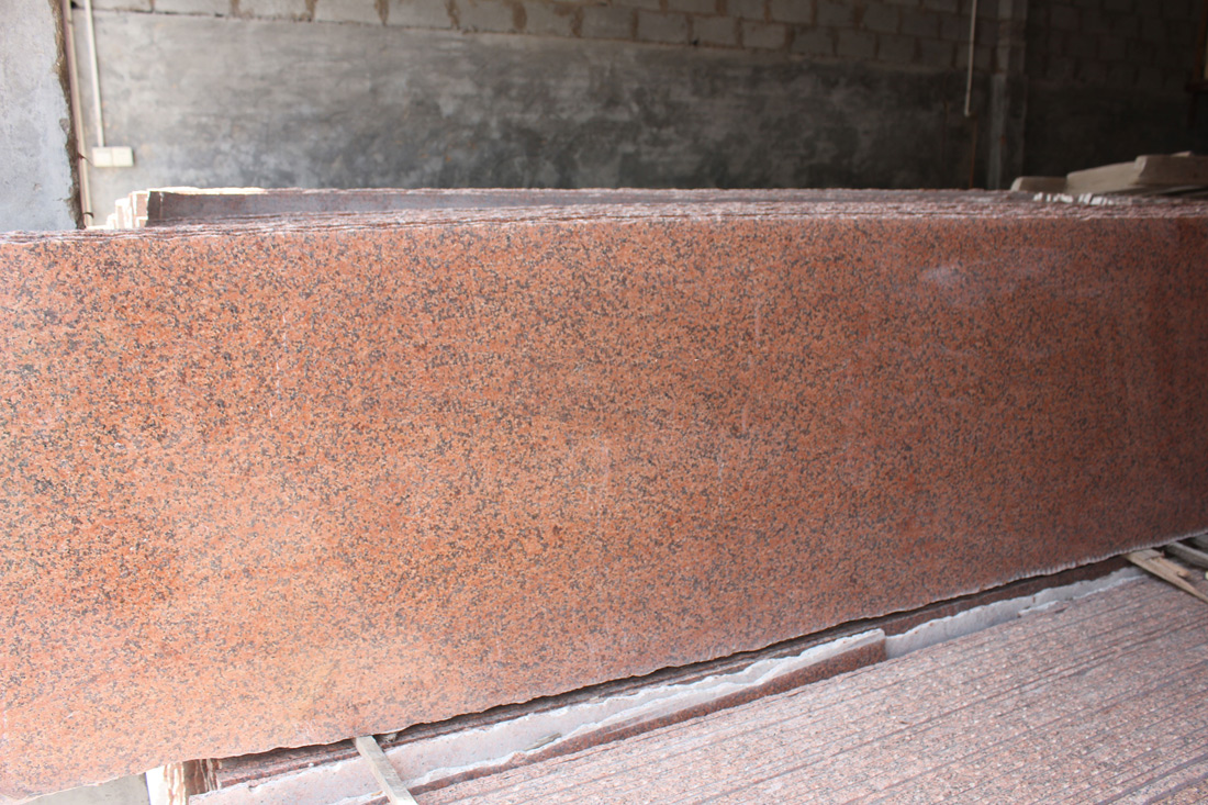 Tianshan Red Granite Slabs