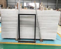 Marble Slabs - Chinese White Wood Marble Slabs