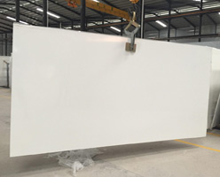 Quartz Slabs - Pure White Quartz Stone Slabs