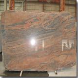 Granite Multicolor Red Slab