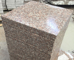 G687 Peach Flower Granite Tiles