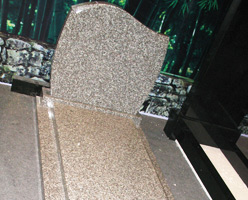 G664 Granite Tombstone