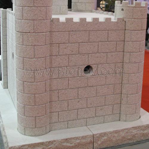 Granite G682 Hammered Wall Stone