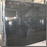 Granite Black Galaxy Slab