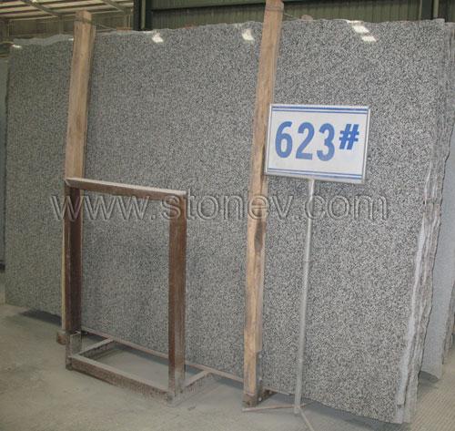 Granite G623 Silvery Grey Slab