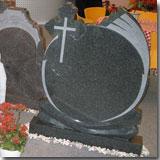 Granite G654 Dark Grey Tombstone
