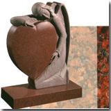 Granite India Red Headstone
