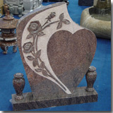 Granite Paradiso Headstone