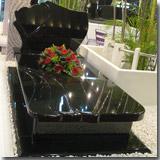 Shanxi Black Granite Tombstone
