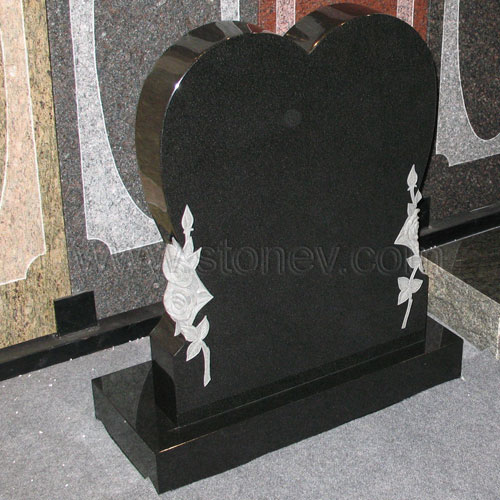 Granite G777 Shanxi Black Tombstone And Monument From China