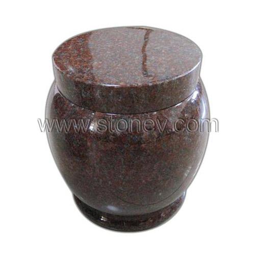 Red Granite Urns