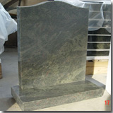 Granite Tropical Green Tombstone