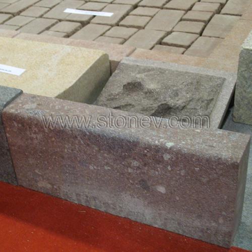Granite Dayang Red Curbstone