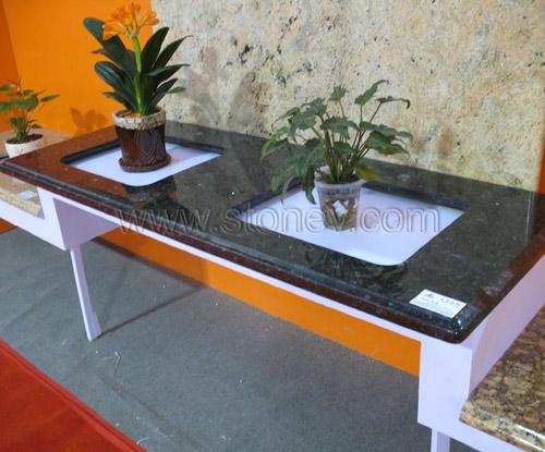 Granite Emerald Pearl Kitchen Countertop