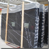 Marble Black and White Slab