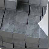 Black Basalt Cube Stone