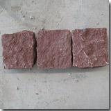 Granite Dayang Red Cube Stone