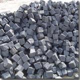 Mongolia Black Cube Stone
