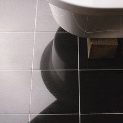 Black Granite Tile Floor