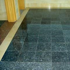 Blue Pearl Granite Tile Floor