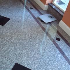 Grey Granite Tile Floor